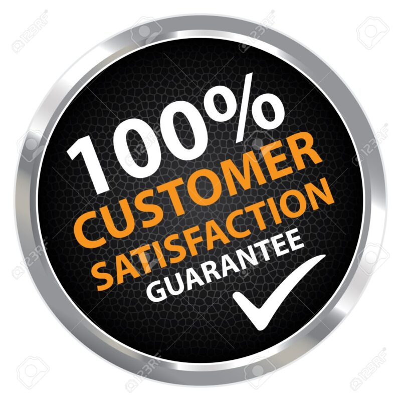 100 % Customer Satisfaction Logo
