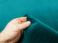 Teal Soft Plush Velvet